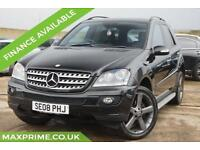 2008 MERCEDES BENZ ML320 3.0 CDI FULL MERCEDES DEALER SERVICE HISTORY