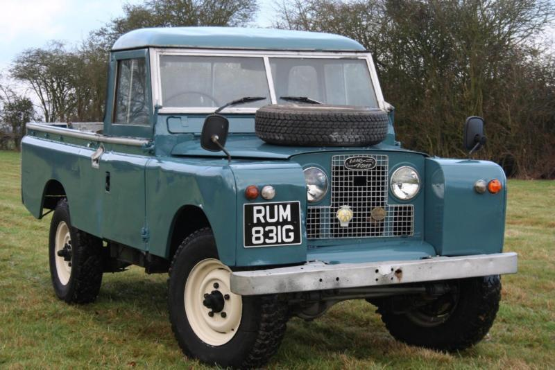 land rover series 2a 109 pick up lpg in aylesbury. Black Bedroom Furniture Sets. Home Design Ideas