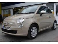 2014 14 FIAT 500 1.2 COLOUR THERAPY GOOD AND BAD CREDIT CAR FINANCE AVAILABLE