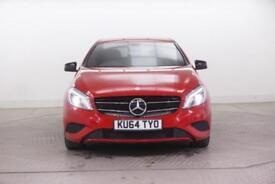 2014 Mercedes-Benz A Class A200 CDI SPORT Diesel red Semi Auto