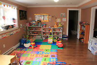 Full time child care spot available for 10 months to 5 years old