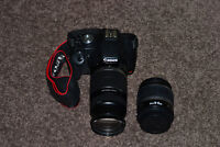 Canon Rebel T1i Camera with 2 lenses