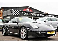 2006 Porsche Cayman 3.4 987 S Tiptronic S 2dr Petrol black Automatic
