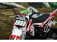 HMX motocross/pitbike ( not kx, ktm, rm)