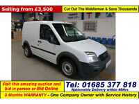 2010 - 10 - FORD TRANSIT CONNECT T200 1.8TDCI 75PS VAN (GUIDE PRICE)