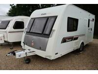 Elddis Avante 462 Solid 2013 2 Berth Caravan + Motor Mover + Porch Awning