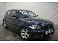 2009 BMW 1 Series 118D SE Diesel blue Manual