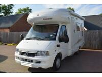 Avondale Seascape 5 ELX Motorhome for Sale 4 Berth 4 Belts L Shape Lounge