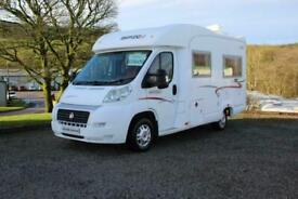 Rapido 707F Low Profile Compact Fixed Bed 4 Berth Motorhome 2008 Only 38k