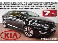 2013 Kia Optima 1.7CRDi (134bhp) auto 3-NAV-CAMERA-HEATED SEATS-B.TOOTH-F.K.S.H.