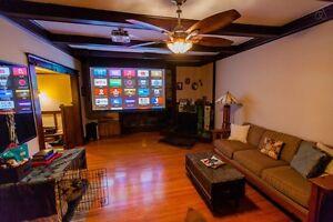 "New 80"" Aspen LED 4K 3D Smart TV-Projector+Screen+300 channels"