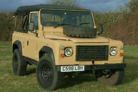 Land Rover Defender 90 2.5D Ex MOD Soft Top