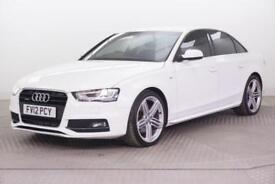 2012 Audi A4 TDI QUATTRO S LINE Diesel white Automatic