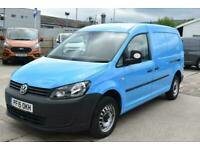 2015 Volkswagen Caddy Maxi C20 TDI STARTLINE BRITUSH GAS BLUE VAN SHELVING AIR C