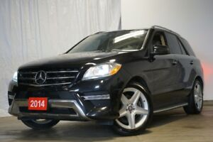 2014 Mercedes-Benz ML350 BLUETEC DIESEL!! AMG PKG PANORAMIC SURO