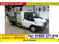 2010 - 59 - FORD TRANSIT T350 2.4TDCI 100PS RWD SINGLE CAB TIPPER (GUIDE PRICE)