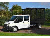 Ford Transit D/c Caged tipper T350 2.2 tdci