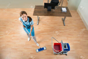 Contract nettoyage bureaux a vendre / Office cleaning  for sale