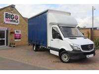 2016 MERCEDES SPRINTER 313 CDI 129 LWB CURTAINSIDER WITH TAIL LIFT CURTAIN SIDE