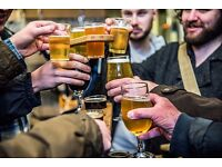 Tour Guides for Manchester Brewery Tours required