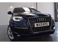 2013 Audi Q7 3.0TDI ( 245ps ) Tiptronic quattro S Line Plus, FINANCE FROM £399