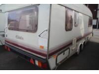 Elddis Crusader Scirocco 1990 4 Berth Caravan £1400