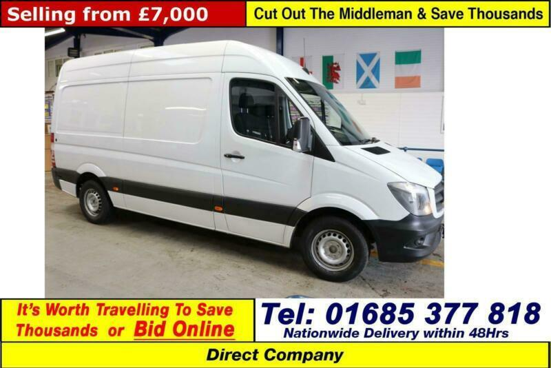 0496c8cf58 2014 - 14 - MERCEDES SPRINTER 313 2.2CDI MWB HI TOP VAN (GUIDE PRICE)