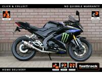YAMAHA YZF R125 2019 19 - BLACK WIDOW EXHAUST - PART SERVICE HISTORY - 2 STAMPS