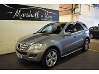 2010 MERCEDES-BENZ M CLASS 3.0 ML300 CDI BLUEEFFICIENCY SPORT 5D AUTO 204 BHP DI