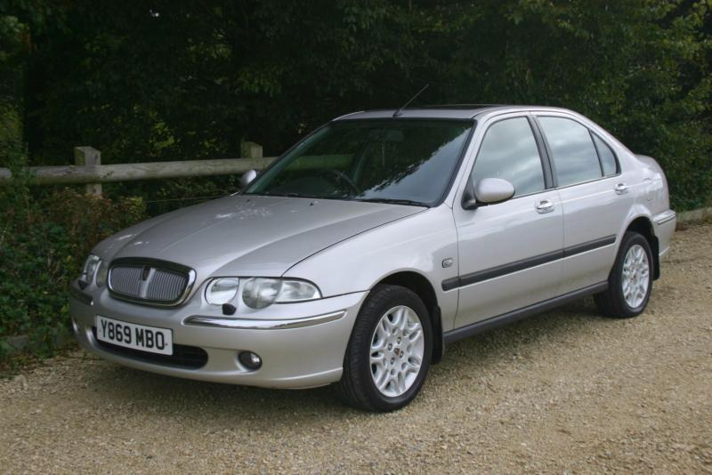 Demonstrator plus 1 Owner from new DIESEL Rover 45 2.0TD Club with MOT till Sept