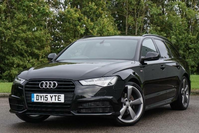 2015 Audi A6 Avant 20 Tdi Ultra Black Edition Avant S Tronic Ss