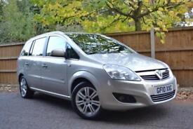 2010 Vauxhall Zafira 1.6i 16v VVT Design £106 A Month £0 Deposit