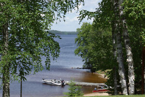 Resort 750` on Calm lake 11 acres unorganized twp crown land