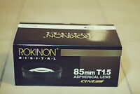 Rokinon 85mm T1.5 Aspherical Cine (For Canon)