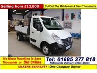2015 - 65 - RENAULT MASTER ML35 BUSINESS 2.3DCI 125PS SINGLE CAB TIPPER