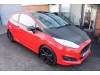 Ford Fiesta ZETEC S RED EDITION-1OWNER FROM NEW