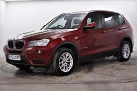 2013 BMW X3 XDRIVE20D SE Diesel red Automatic