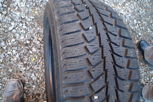 Snow Tires: Uniroyal TigerPaw Ice and Snow II model: 225/50R17