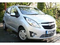 Chevrolet **SPARK** 1.0 2012 **5 Door** LS **£30 RFL**