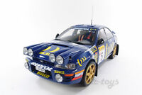 1/18 DIECAST SunStar Subaru Impreza 555 C.Sainz L.Moya Winner City of Montréal Greater Montréal Preview