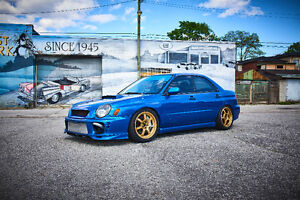 2003 Subaru WRX with BUILT USDM STi ENGINE