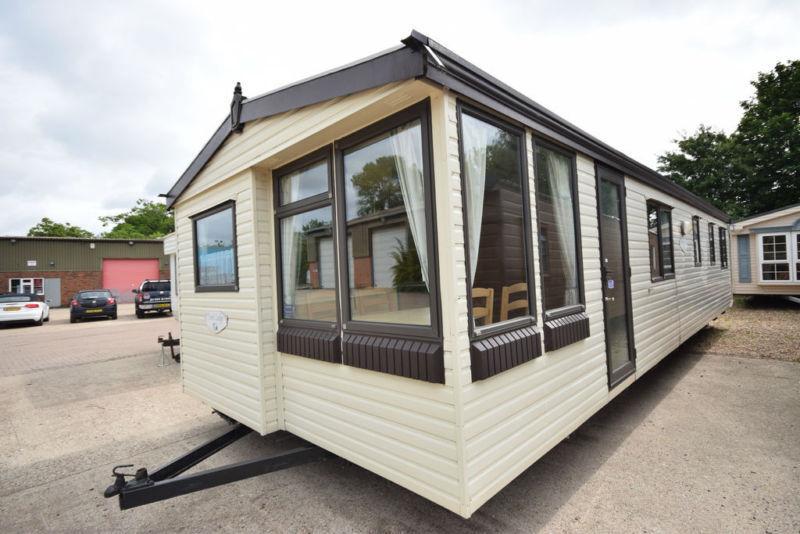 2002 Atlas Park Lodge 36x12 Static Caravan 2 Beds