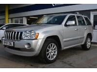 GOOD CREDIT CAR FINANCE AVAILABLE 2007 57 JEEP GRAND CHEROKEE 3.0 OVERLAND