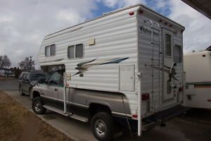 Adventurer 85WS camper clean and tidy, ready to go!