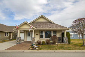 Salmon Arm - 2 Bdrm Rancher in 55+ Gated Community