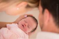 Service de photographies de maternité et de nouveau-né