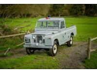 "Land Rover Series 2a 1962 109"" Ex West Sussex Fire Brigade"