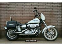 HARLEY DAVIDSON DYNA SUPERGLIDE 2005 54 - CRUSHER EXHAUST - LUGGAGE
