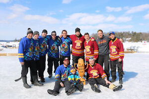 Pond Hockey Tournament in Muskoka! Feb 10-12th
