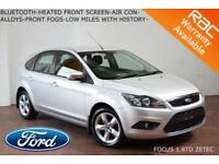 08 Ford Focus 1.8TDCi (115ps) Zetec-BLUETOOTH-A/C-LOW MILES-SERVICE HISTORY-